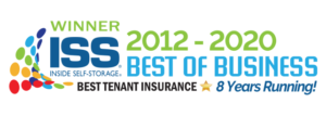 Winner of the 2020 Inside Self-Storage Best Tenant Insurance Award!