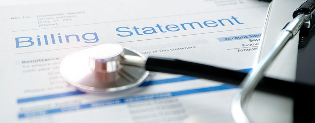 Healthcare billing statement