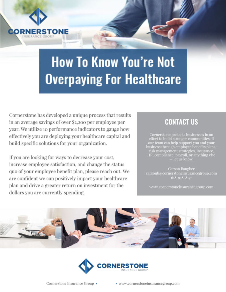 Dont overpay for healthcare image