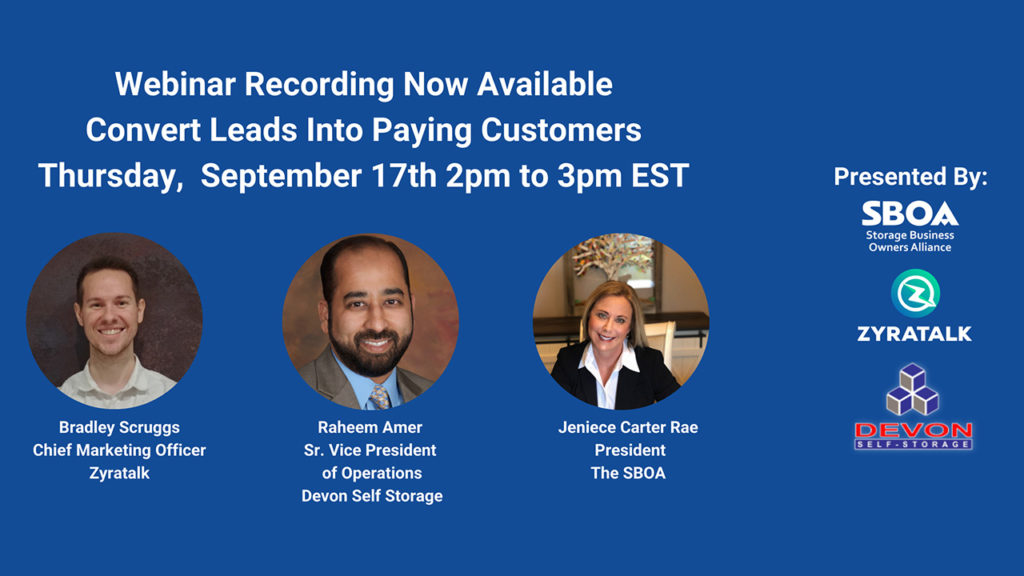 Convert Leads into Paying Customers webinar