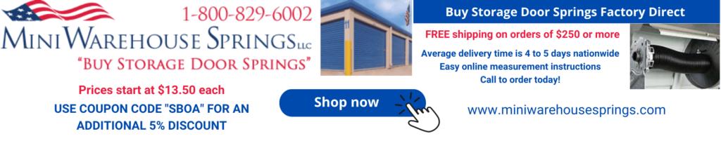 Mini Warehouse Springs ad