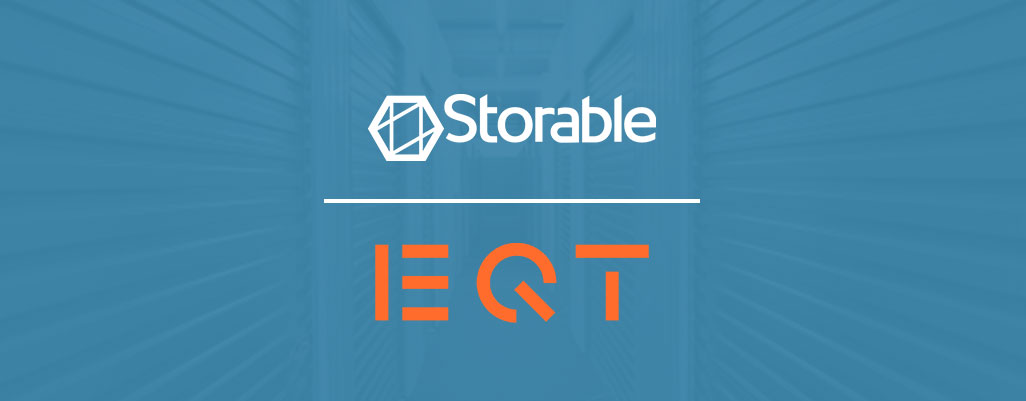 Storable and EQT logos
