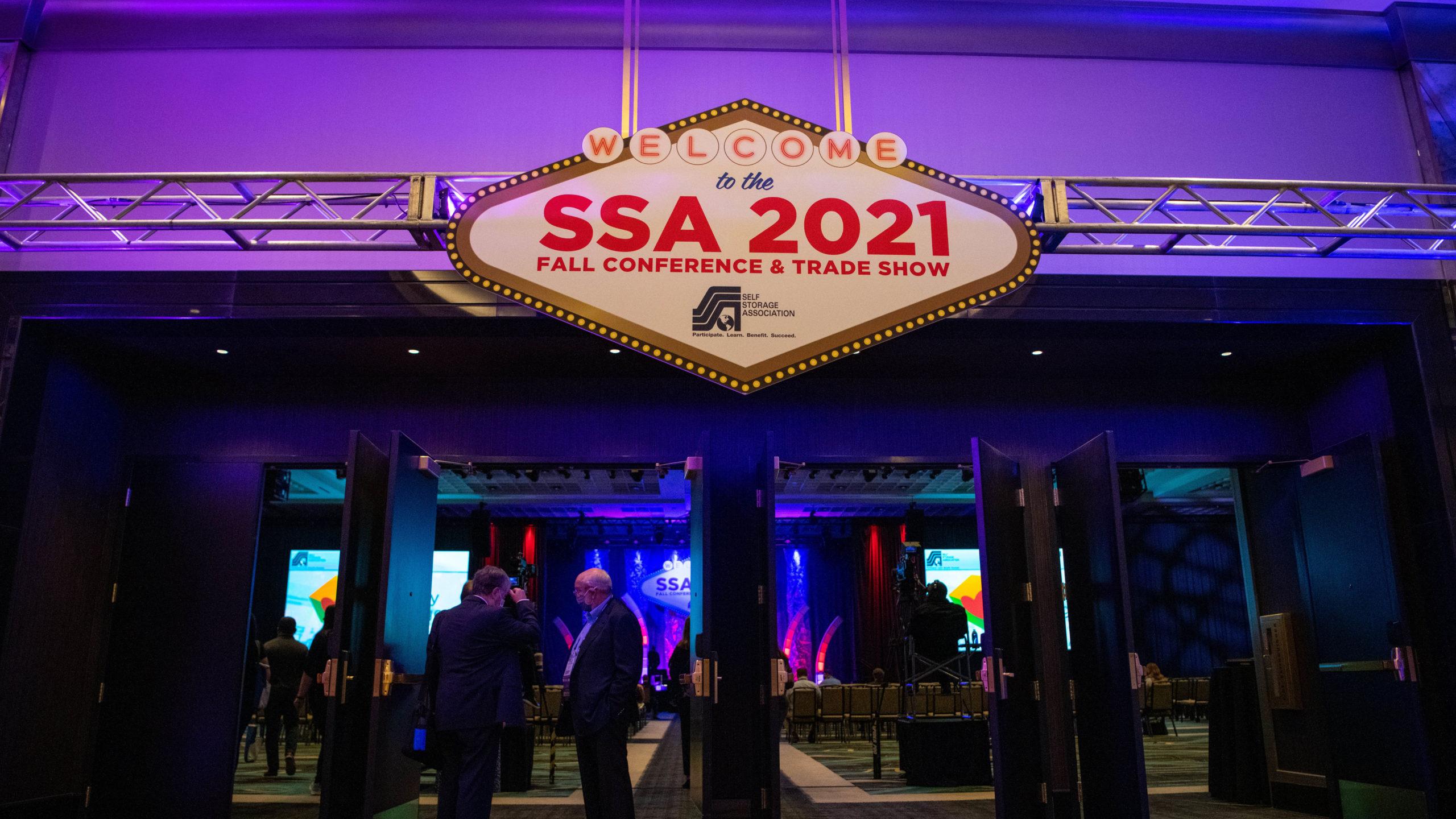 ssa conference entrance