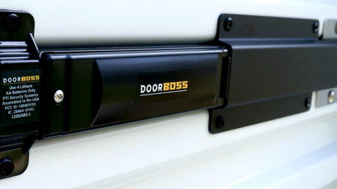 self storage door lock